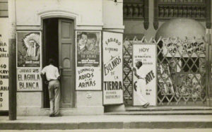 Havana Cinema, Walker Evans, 1933. The J. Paul Getty Museum, XXX.  Walker Evans Archive, The Metropolitan Museum of Art