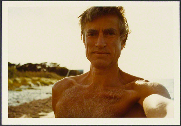 Self-portrait, Samuel J. Wagstaff, 1960s or 1970s. The Getty Research Institute, Samuel Wagstaff papers, 1860-1987, 2005.M.46. Gift of The Robert Mapplethorpe Foundation, Inc.