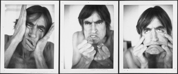 Self-portraits by Sam Wagstaff, 1960s or 1970s. The Getty Research Institute, Samuel Wagstaff papers, 1796-1987, 2005.M.46 Gift of The Robert Mapplethorpe Foundation, Inc.