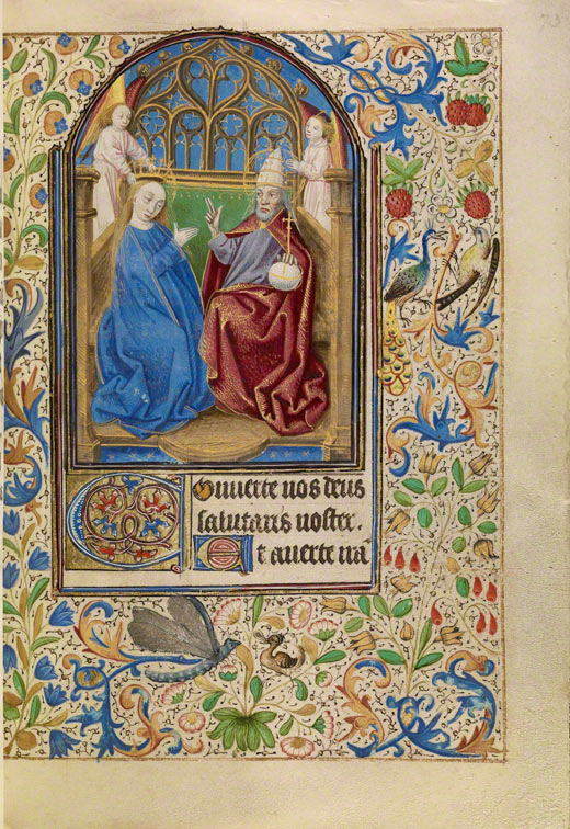 The Coronation of the Virgin / Master of Jacques of Luxembourg