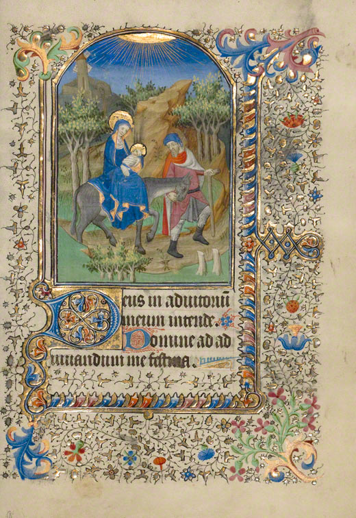 The Flight into Egypt / French