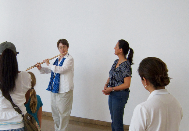 Ann Erwin and Laura Lewis present a musical exploration of modern sculpture in the Museum Entrance Hall