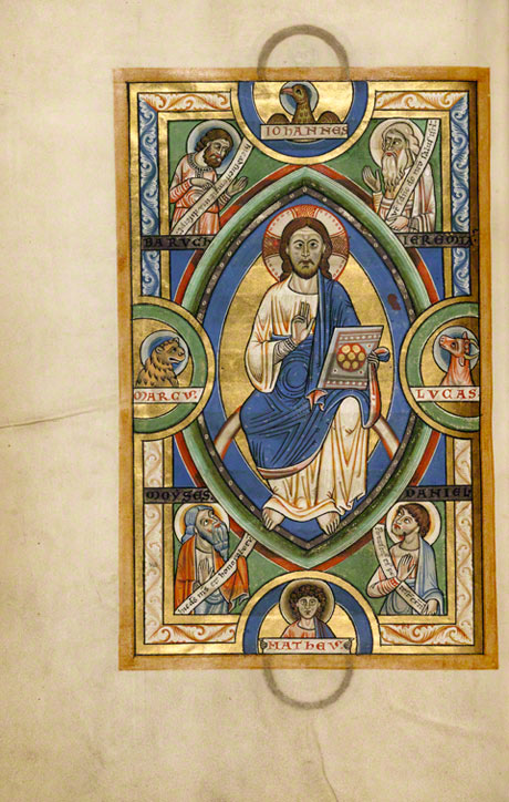 Christ in Majesty in the Stammheim Missal / German