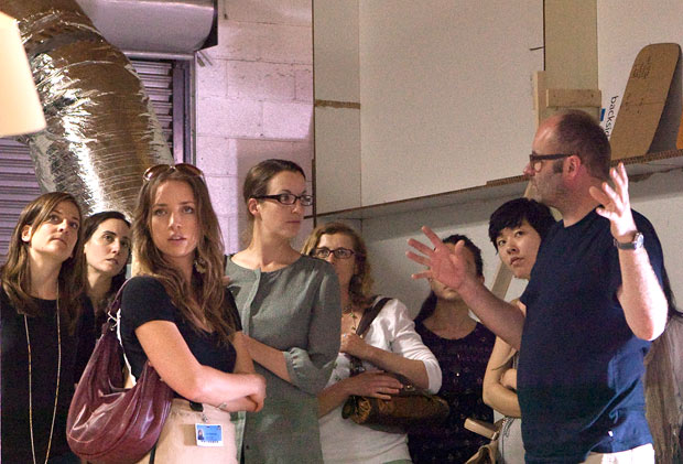 Thomas Demand welcomes Getty visitors to his Culver City studio