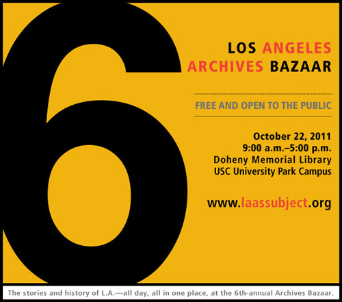 Meet Us at the 6th Annual Archives Bazaar