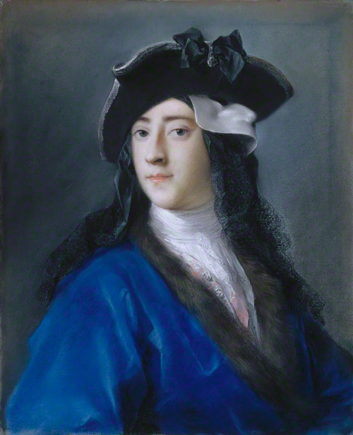 Gustavus Hamilton (1710-1746), Second Viscount Boyne, in Masquerade Costume / Rosalba Carriera