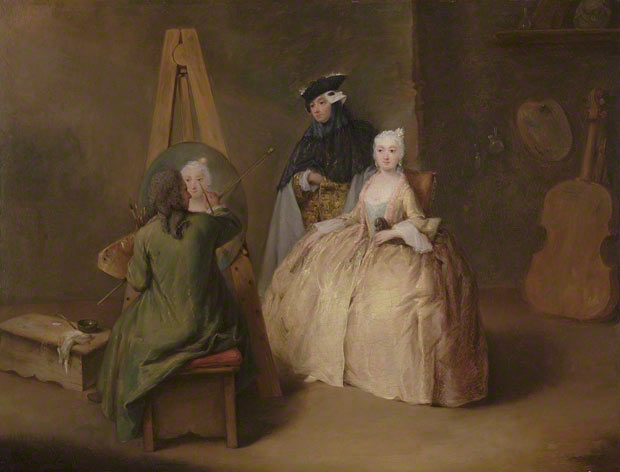 The Painter in His Studio / Pietro Longhi