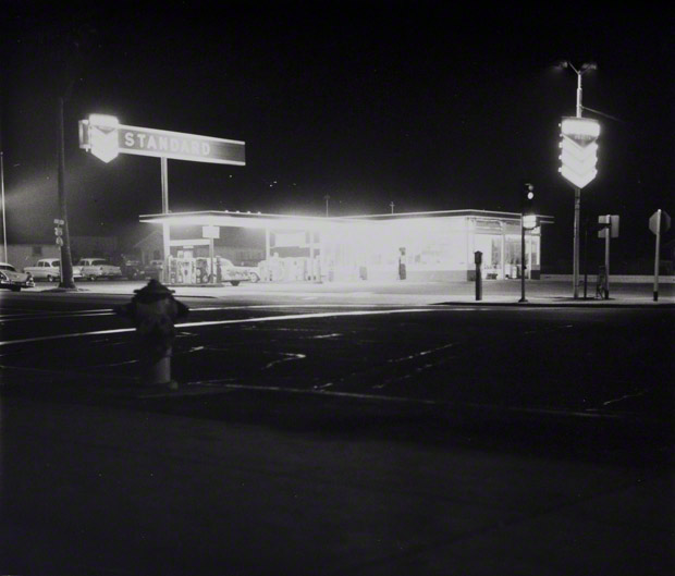 Standard, Figueroa Street, Los Angeles / Ed Ruscha
