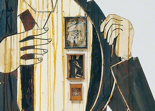Detail of Ab Ex painters in Walter Hopps Hopps Hopps / Edward Kienholz
