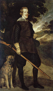 Philip IV as a Hunter / Workshop of Diego Velazquez