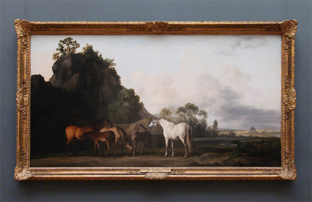 Brood Mares and Foals, framed / George Stubbs