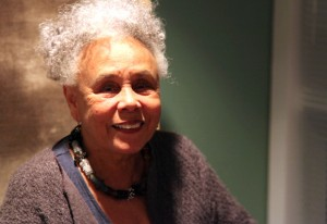 Betye Saar at the Getty Center, November 16, 2011