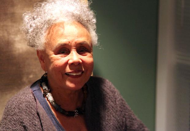 Betye Saar at the Getty Center, November 16, 2011
