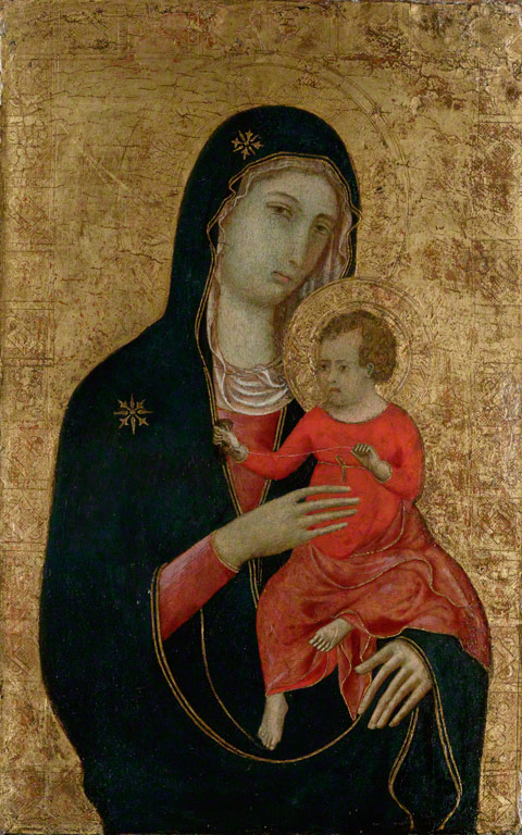 Madonna and Child / school of Duccio di Buoninsegna