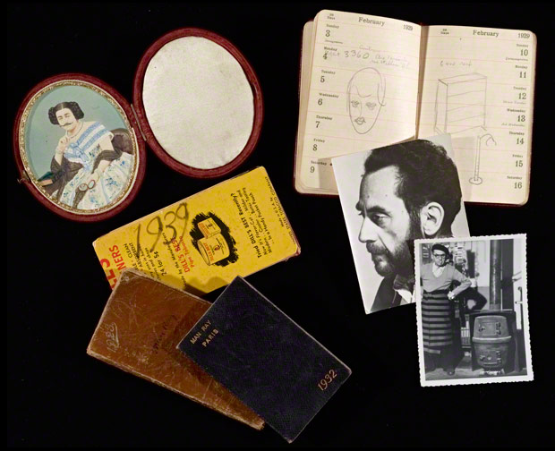 Datebooks and photographs from the Man Ray materials acquired by the Research Institute