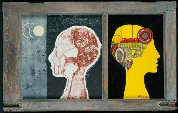 The Phrenologer's Window / Betye Saar