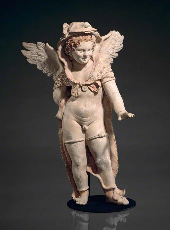 Eros Wearing a Lionskin / Greek