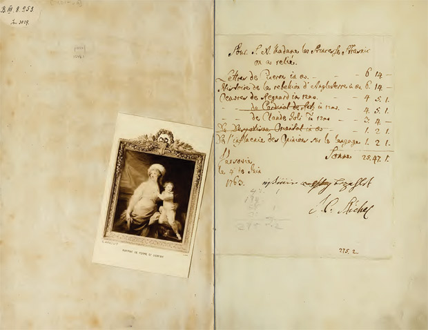 Opening page from Catalogus bibliothecae Lancutensis, Stanislai principis Lubomirski (1757)