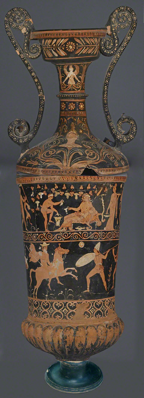 Loutrophoros / Greek, 300s B.C.