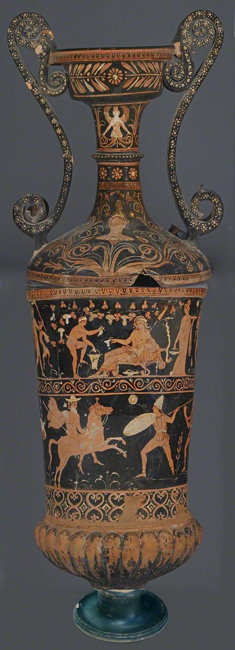 Loutrophoros / Greek, 300s B.C.