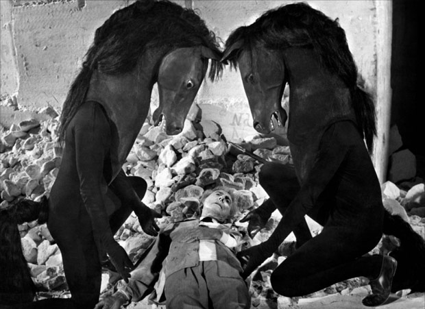 Still from Jean Cocteau's Testament of Orpheus