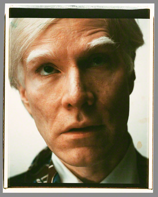 Self-Portrait / Andy Warhol