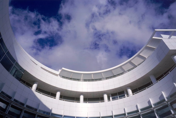 The Getty Research Institute opens to the sky