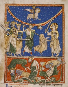 The Lamb Defeating the Ten Kings / Spanish