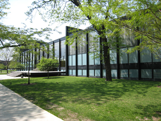 Crown Hall at the Illinois Institute of Technology in Chicago, 1956