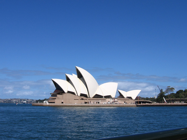 Sydney Opera House. Jørn Utzon, 1973, Sydney