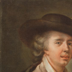 Detail from Portrait of Edouard Dagoty, Inventor of Color Printing / Carlo Lasinio