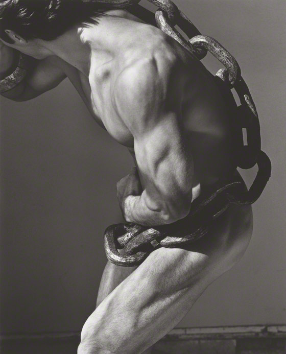 Man with Chain, Los Angeles / Herb Ritts