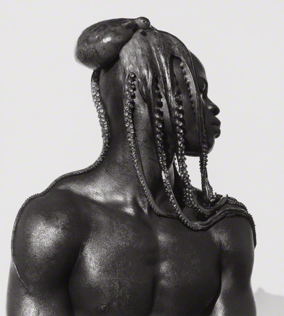 Djimon with Octopus, Hollywood / Herb Ritts