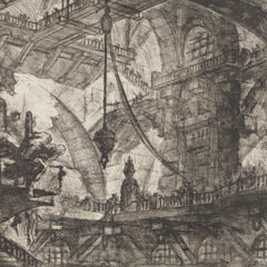 Detail from Capricious Inventions of Prisons / Giovanni Battista Piranesi