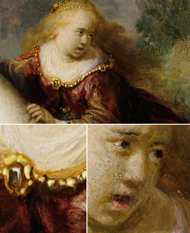 Explore a gigapixel image of Rembrandt&#039;s The Abduction of Europa on Google Art Project