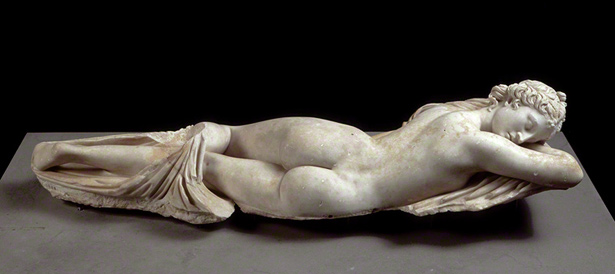 Hermaphroditos (The Sleeping Hermaphrodite) / Roman