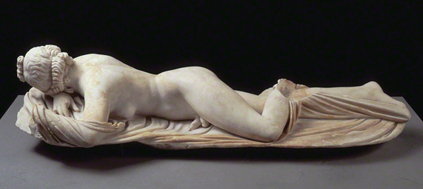 Hermaphroditos (The Sleeping Hermaphrodite) / Roman