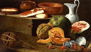 Natura morta di cucina (Kitchen Still Life) / Cristoforo Munari
