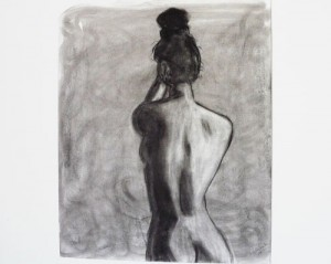 Untitled life-drawing sketch / Paula Rucker