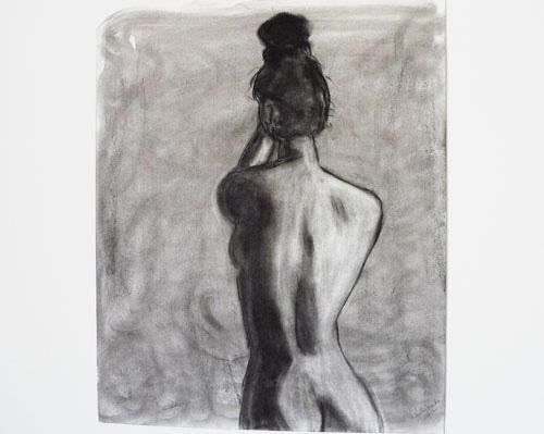 Untitled life-drawing sketch / Paula Rucker
