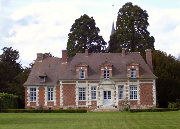 The hunting lodge at Berthouville, France