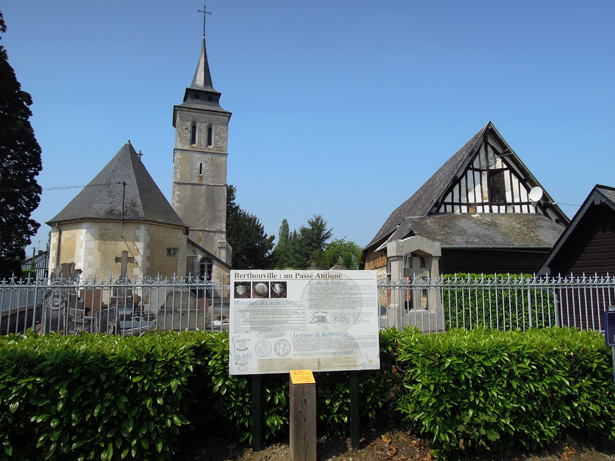 The Church of Saint-Pierre at Berthouville, France