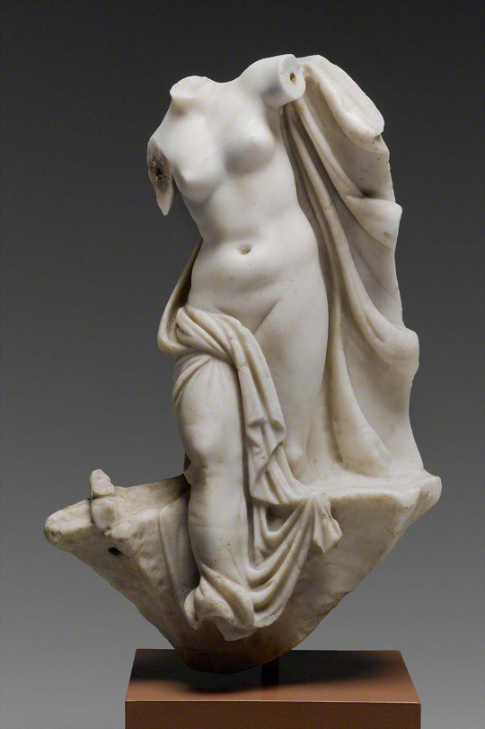 Statuette of Aphrodite Emerging from the Sea / Greek or Roman