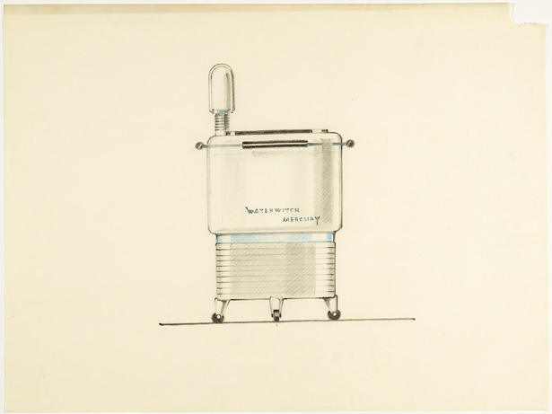 Design for Mercury Waterwitch Washing Machine / Karl Schneider