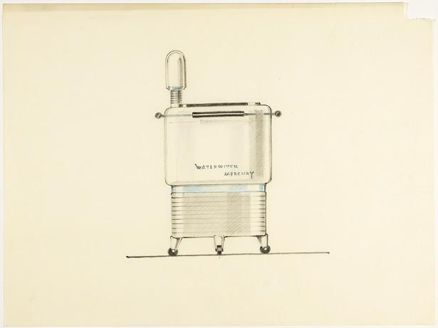 Design for Mercury Waterwitch Washing Machine / Karl Schneider