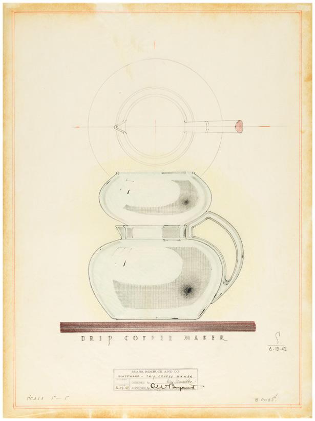 Design for Drip Coffee Maker / Karl Schneider