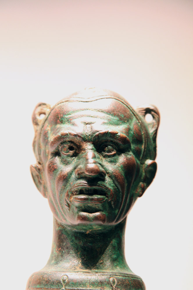 Balsamarium in the Form of a Boxer's Head