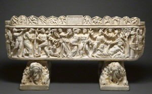 Sarcophagus with Scenes of Bacchus / Roman