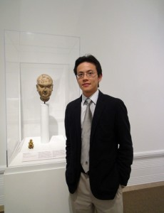 Curator Josh Yiu at the Seattle Art Museum