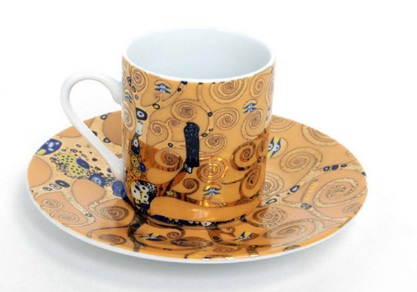 Klimt espresso cup at the Getty Store